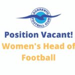 WOMENS HEAD OF FOOTBALL