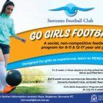 Go Girls Football and Girls SAP Program