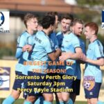 Top Four Cup: Play-Off – Sorrento v Perth Glory